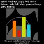 Ny app giver dig mulighed for at kommentere på lyden direkte til lydmændende på Roskilde-festival