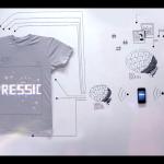 T-shirt fyldt med teknologi