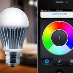 Ny el-pære taler sammen med din smartphone