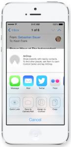 Airdrop til iPhone